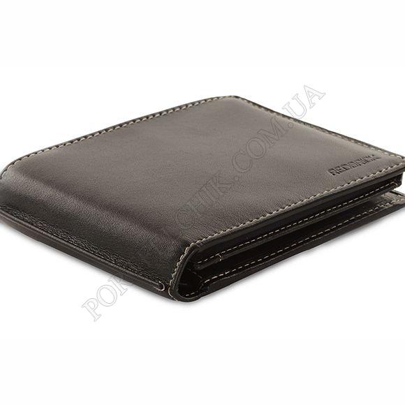 Чоловічий гаманець Redbrick RBWC0020 Black чорний