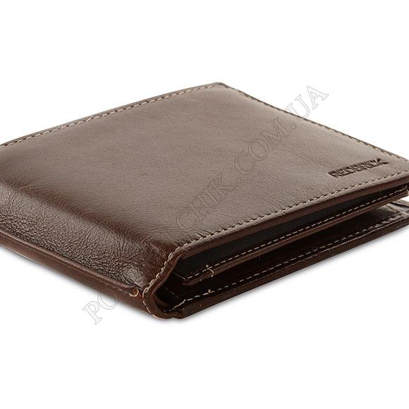 Чоловічий гаманець Redbrick RBWC0020 brown коричневий