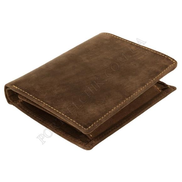 Мужской кошелек Visconti 709 OIL Tan коричневый