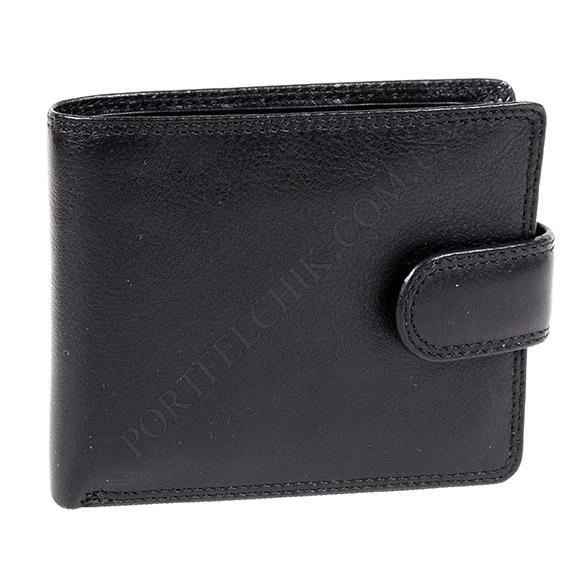 Чоловічий гаманець Visconti HT-10 BL чорний