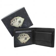Гаманець чоловічий Visconti PKR-40 BLK Poker