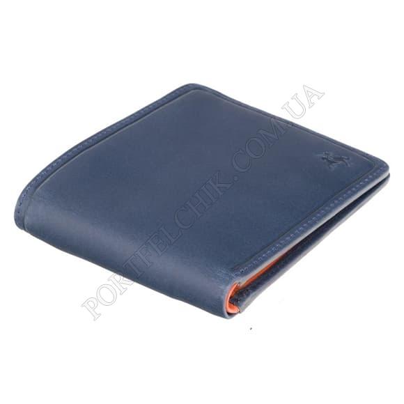 Мужской кошелек Visconti PLR-72 ST/BL/OR синий