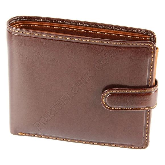 Чоловічий гаманець Visconti TR-35 BRN-TAN коричневий