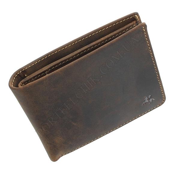 Чоловічий гаманець Visconti VSL-33 Oil Tan коричневий