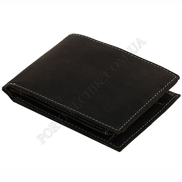 Чоловічий гаманець Woodbridge NC4054 Oil Black чорний