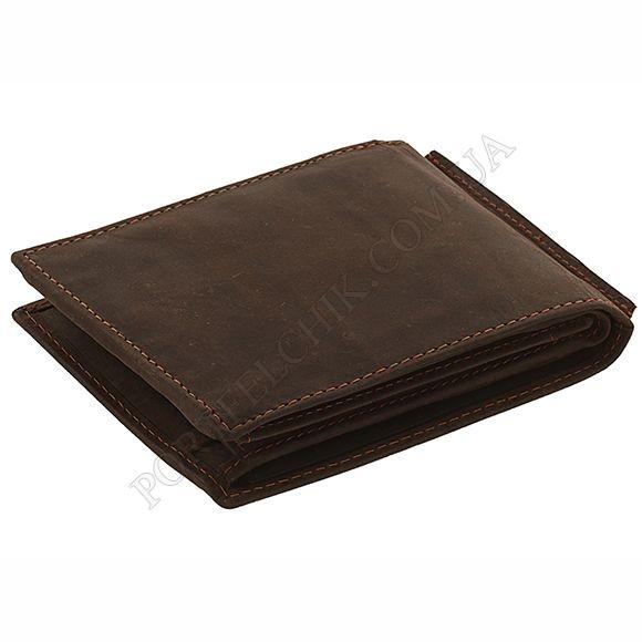 Чоловічий гаманець Woodbridge NC4054 Oil Brown коричневий