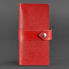 Кожаный женский кошелек BlankNote BN-PM-3-1-red