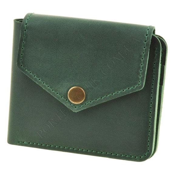 Жіночий гаманець BlankNote BN-PM-4-2-IZ Crazy Horse зелений