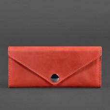 Кожаный женский кошелек BlankNote BN-W-1-Coral