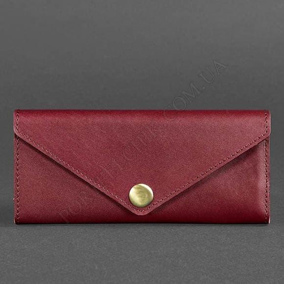 Жіночий гаманець BlankNote BN-W-1-VIN бордовий
