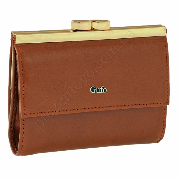 Шкіряний жіночий гаманець Gufo 2391012