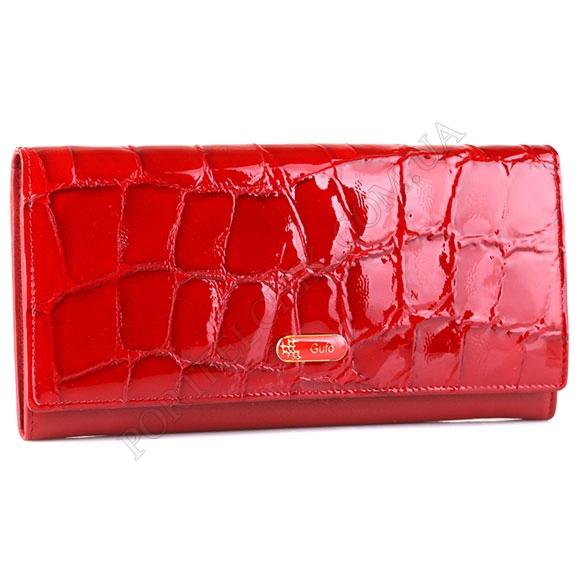 Шкіряний жіночий гаманець Gufo GFW 2316 RE