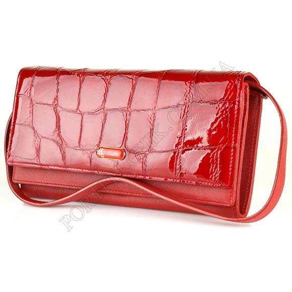 Шкіряний жіночий гаманець Gufo GFW 2322 RE