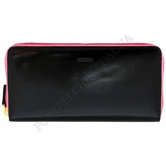 Женский кошелек Gufo GFW 2429 PI черный, комбинированный