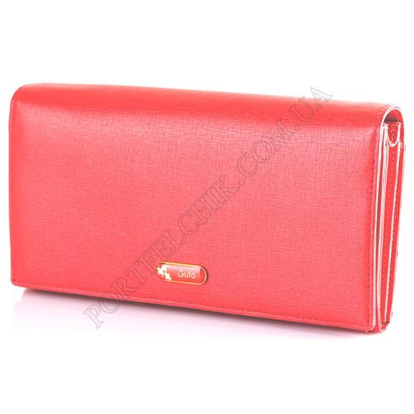 Шкіряний жіночий гаманець Gufo GFW 2815 RE