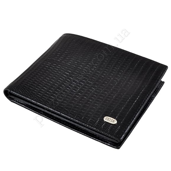 Чоловічий гаманець Petek 204-041-01 чорний