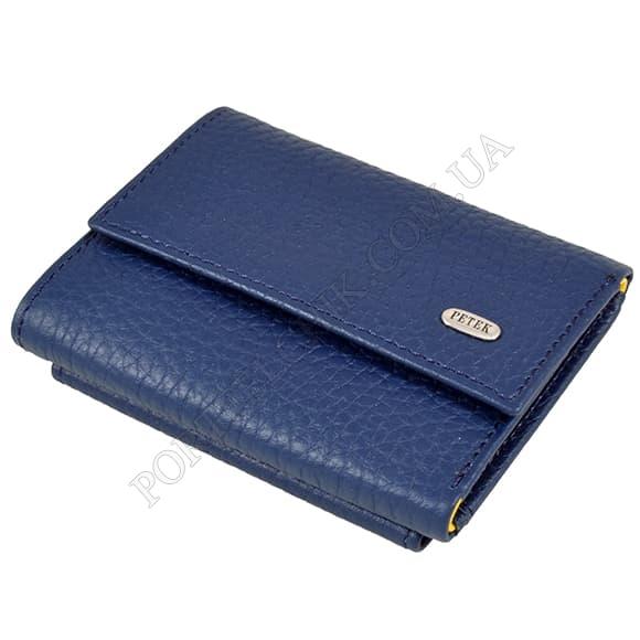 Жіночий гаманець Petek 261-46BD-A17 синій, комбінований