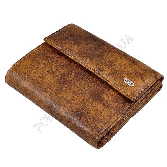 Жіночий гаманець Petek 335-X3-04 коричневий, комбінований
