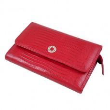 Жіночий червоний гаманець Petek 422-041-10