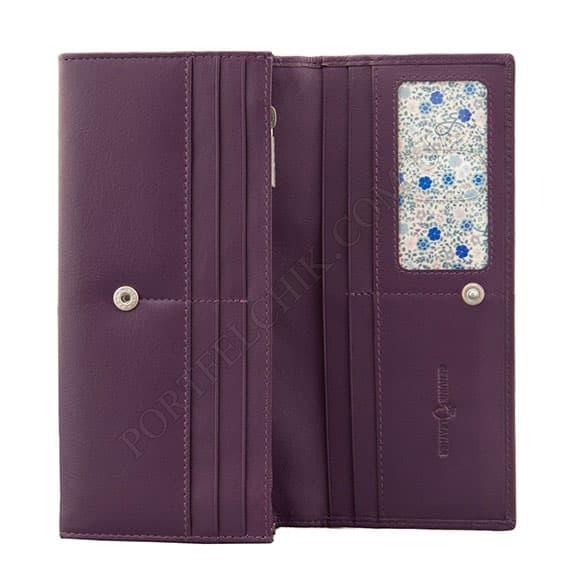 Женский кошелек Yoshi Y1310 23 purple фиолетовый