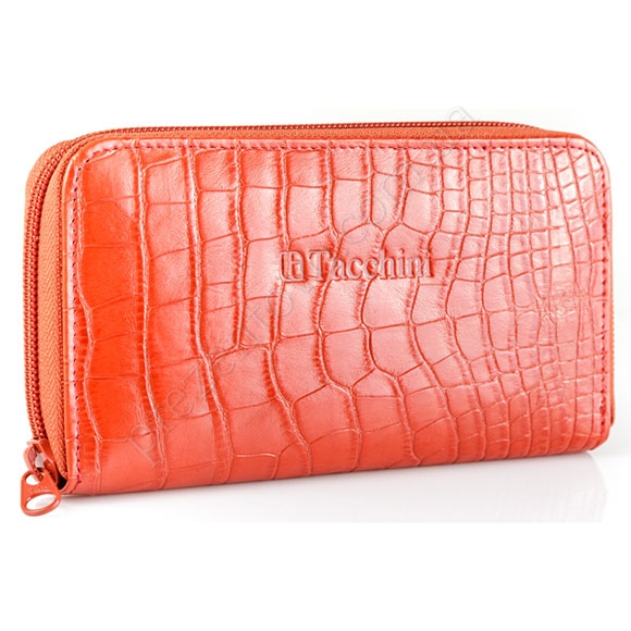 Шкіряний жіночий гаманець Tacchini A 809 RE