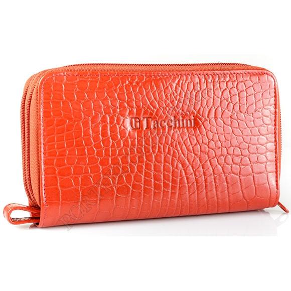 Шкіряний жіночий гаманець Tacchini A 810 RE