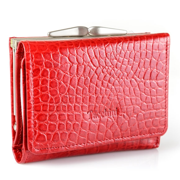 Шкіряний жіночий гаманець Tacchini A 812 DRE