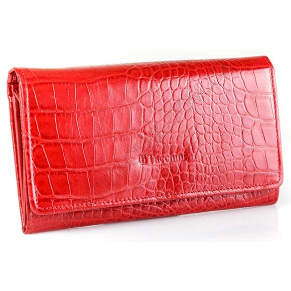Кожаный женский кошелек Tacchini A 813 DRE