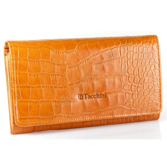 Шкіряний жіночий гаманець Tacchini A 813 OR