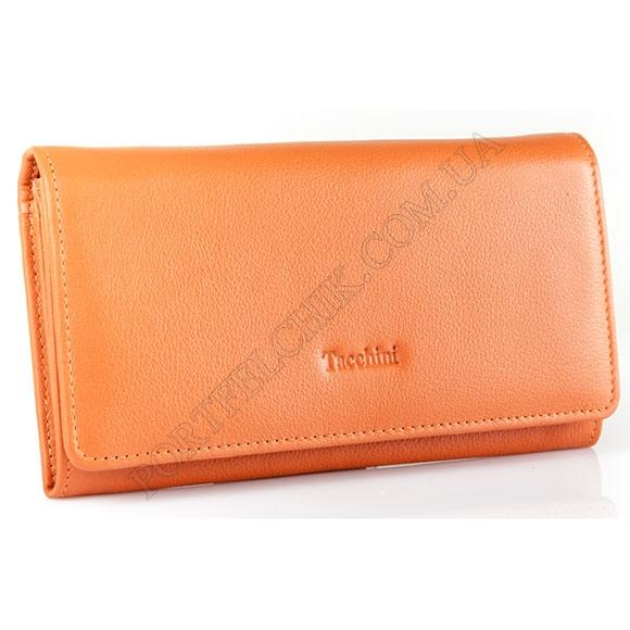 Шкіряний жіночий гаманець Tacchini NP 548 OR