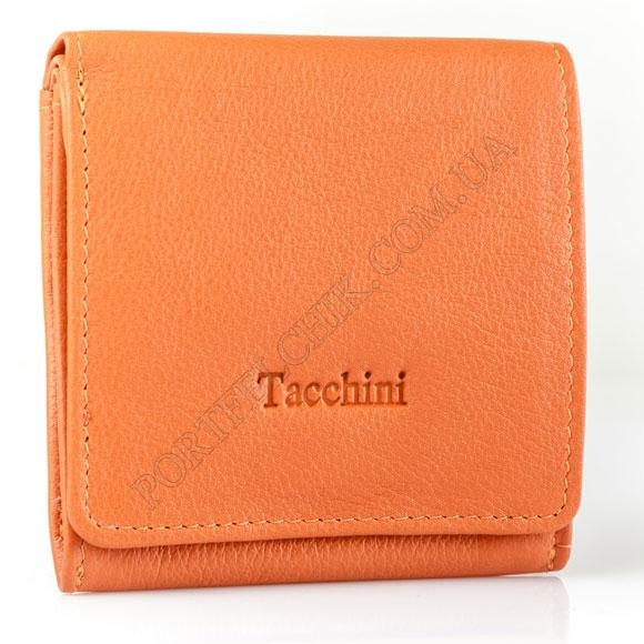 Кожаный женский кошелек Tacchini NP 643 OR