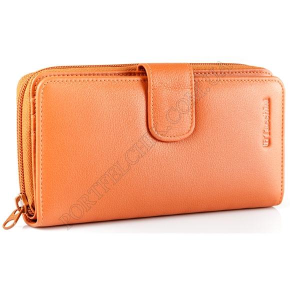 Шкіряний жіночий гаманець Tacchini NP 668 OR