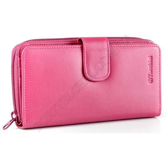 Шкіряний жіночий гаманець Tacchini NP 668 PI