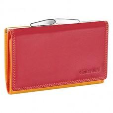 Жіночий червоний гаманець Valentini 123-386-4