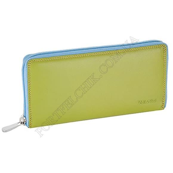 Жіночий гаманець Valentini 123-866-5 зелений