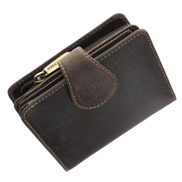 Женский кошелек Visconti 715 OIL BR коричневый