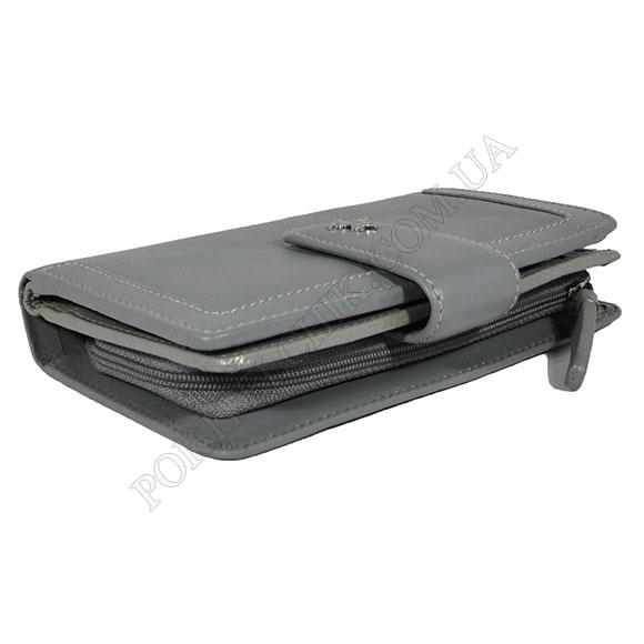Жіночий гаманець Visconti AR-25 Gray-Silver сірий