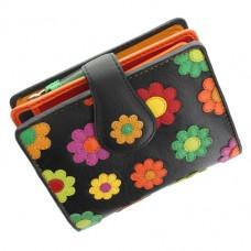Жіночий гаманець маленького розміру Visconti DS-80 Black Pace