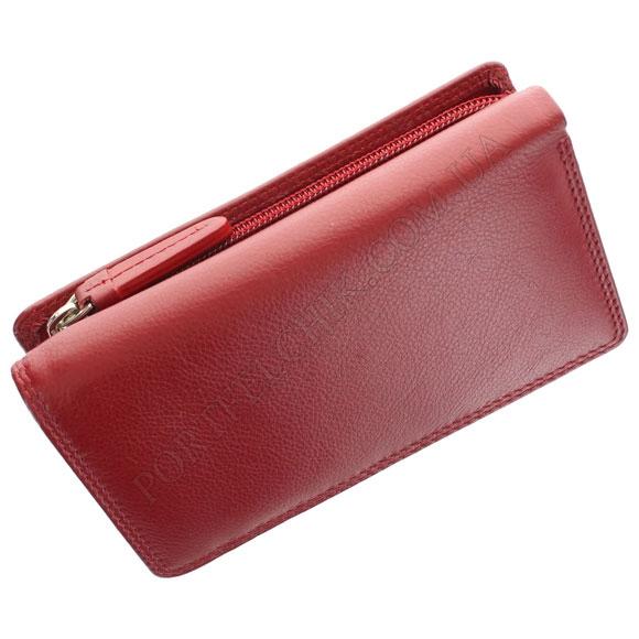 Кожаный женский кошелек Visconti HT-32 Red