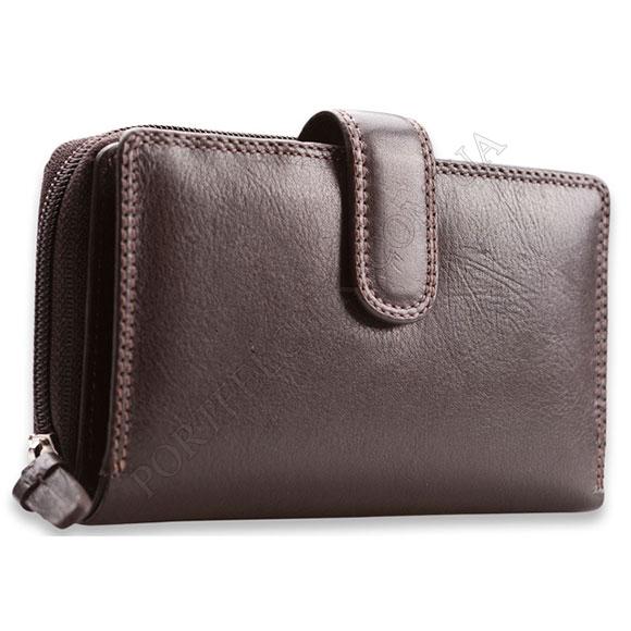 Жіночий гаманець Visconti HT-33 Choco коричневий