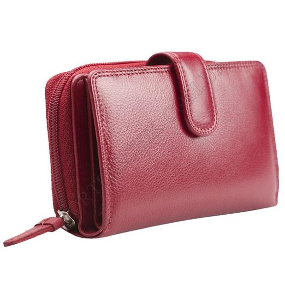 Жіночий гаманець Visconti HT-33 Red червоний