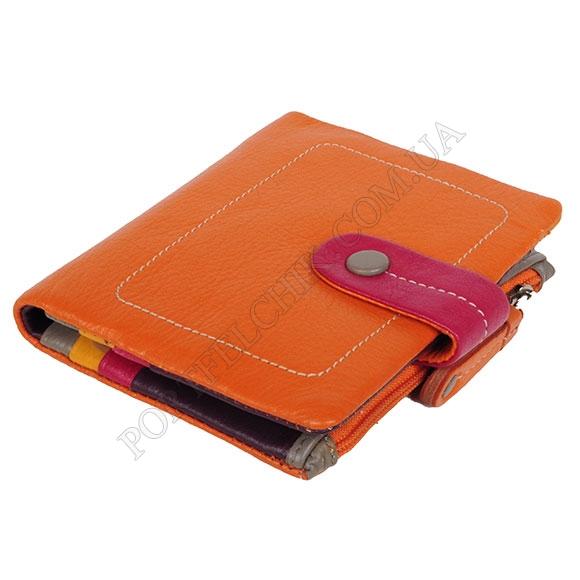 Кожаный женский кошелек Visconti M-77 Orange