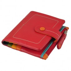 Жіночий гаманець натуральна шкіра Visconti M-77 Red