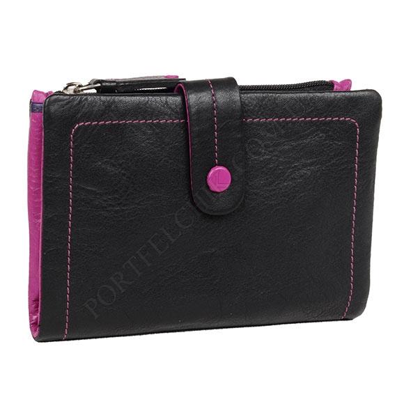 Жіночий гаманець Visconti M-87 Black чорний