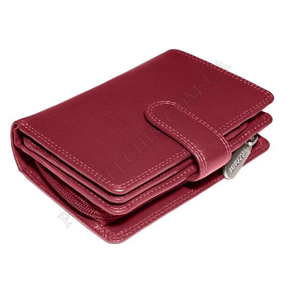 Шкіряний жіночий гаманець Visconti MZ-11 Ita Red