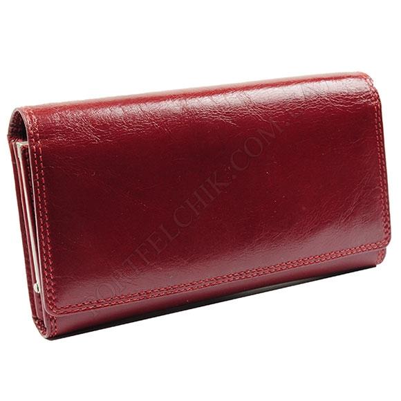 Жіночий гаманець Visconti MZ-12 Ita Red червоний