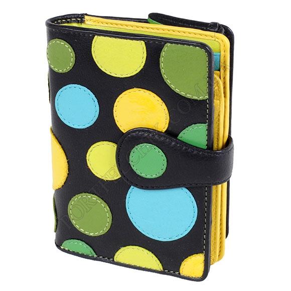 Шкіряний жіночий гаманець Visconti P-1 Lily Pad