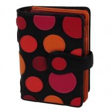 Різнобарвний жіночий гаманець Visconti P-1 Very Berry