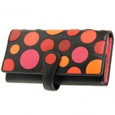 Жіночий кольоровий гаманець Visconti P-2 Very Berry