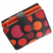 Жіночий шкіряний гаманець Visconti P-3 Very Berry